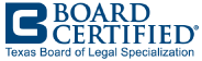 Texas Board of Legal Specialization Badge