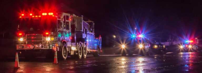 Multi-Car Accident in Karnack